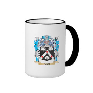 Smut Coat of Arms - Family Crest Ringer Mug