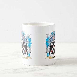 Smuts Coat of Arms - Family Crest Basic White Mug