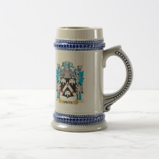 Smuts Coat of Arms - Family Crest Beer Steins