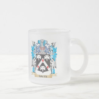 Smuts Coat of Arms - Family Crest Frosted Glass Mug