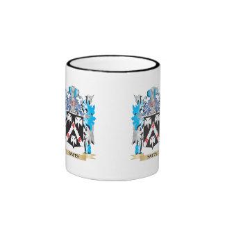 Smuts Coat of Arms - Family Crest Ringer Mug