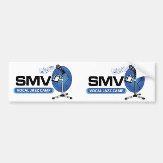 SMV Vocal Jazz Camp Stickers - set of 2 Car Bumper Sticker