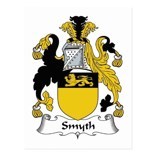 Smyth Family Crest Postcard