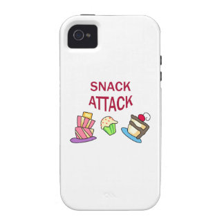 SNACK ATTACK VIBE iPhone 4 CASES
