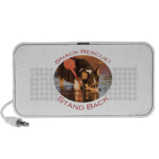 Snack Rescue Stand Back iPod Speaker