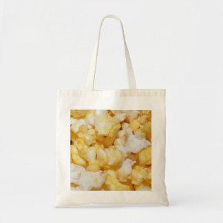 Snacks Food Kitchen Popcorn Crunchy Salty Party Canvas Bag