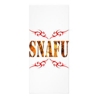 SNAFU RACK CARD DESIGN