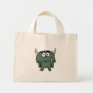 Snaggle Tooth Tote Canvas Bags