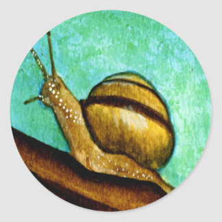 Snail 1 Sticker Sheet
