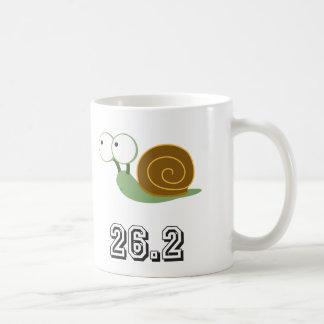 Snail 26.2 (marathon) coffee mug