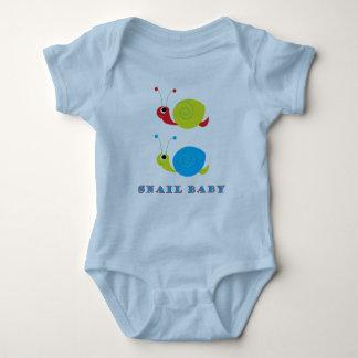 Snail Baby Baby Bodysuit