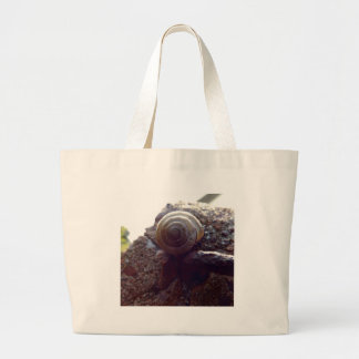 snail tote bags