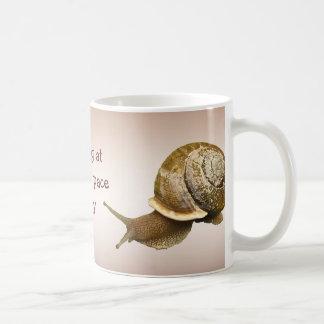 Snail Basic White Mug