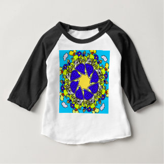 snail cartoon original art designed product gift baby T-Shirt
