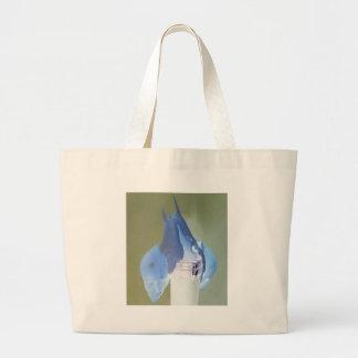 Snail love large tote bag