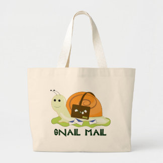Snail Mail Large Tote Bag
