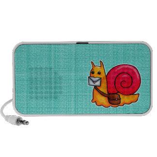 Snail mail speaker system