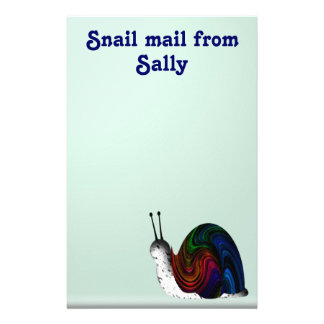 Snail mail stationery
