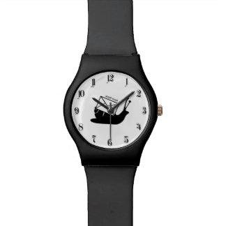 Snail mail wristwatch