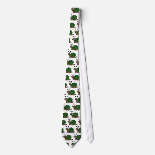 snail neck ties