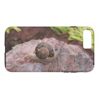 Snail on a Rock iPhone 8 Plus/7 Plus Case