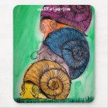 Snail Pile Mousepad