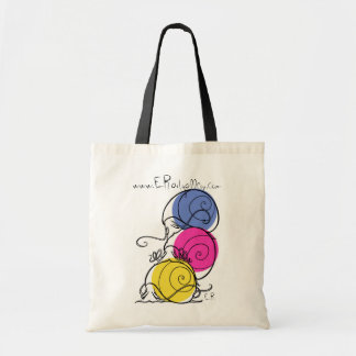 Snail Pile Reusable Grocery Tote