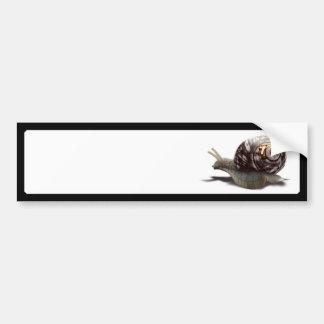 Snail Racer - Lucky #7 Bumper Sticker