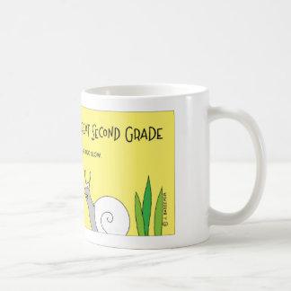 Snail repeats second grade coffee mug