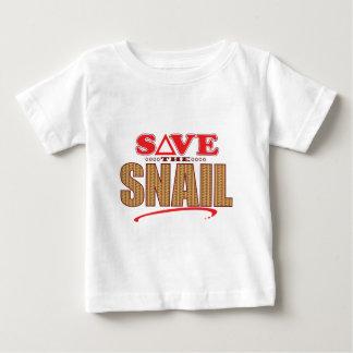 Snail Save Baby T-Shirt