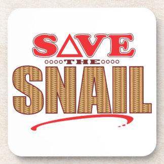 Snail Save Coaster