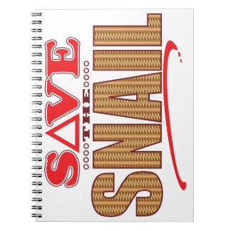 Snail Save Notebook