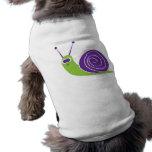 Snail Sleeveless Dog Shirt