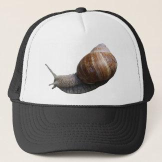 snail snail trucker hat
