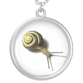Snail Sterling Silver Necklace