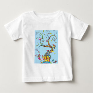 Snail Tree Baby T-Shirt