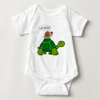 Snail & Turtle - Turbo Duo Baby Bodysuit