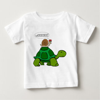 Snail & Turtle - Turbo Duo Baby T-Shirt