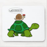 Snail & Turtle - Turbo Duo Mouse Mat