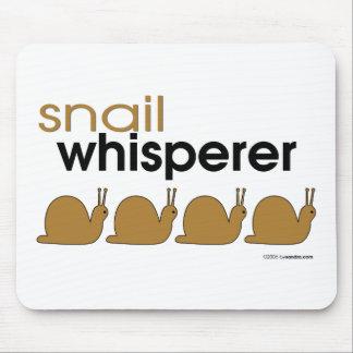 Snail Whisperer Mouse Mats