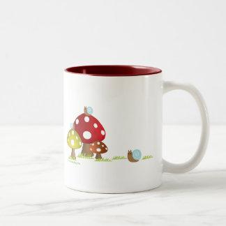 Snails and Mushrooms Mug
