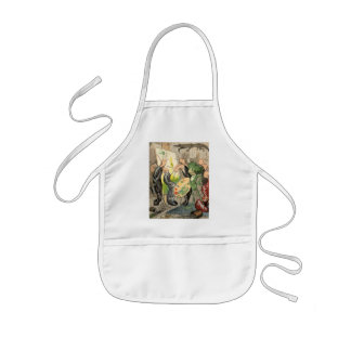 Snails and Toad Art Gallery Apron