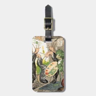 Snails and Toad Art Gallery Luggage Tags