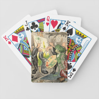 Snails and Toad Art Gallery Poker Deck