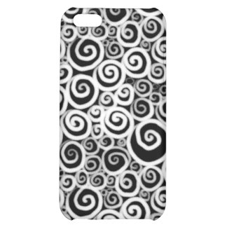 Snails BW Inverted iPhone 5C Cover