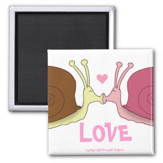 Snails In Love Magnet