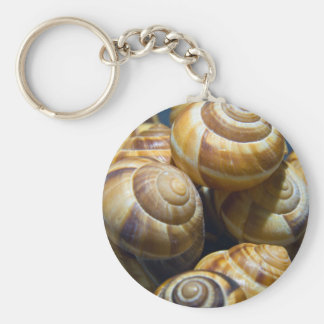 snails keychains