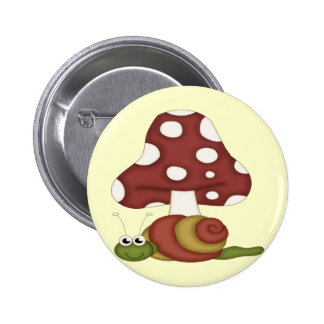 Snails Life 6 Cm Round Badge