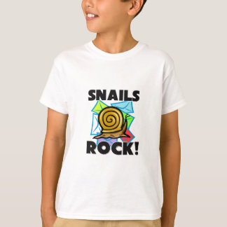 Snails Rock T-Shirt