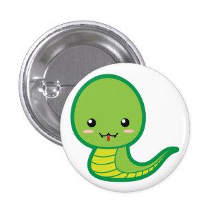 Snake 3 Cm Round Badge